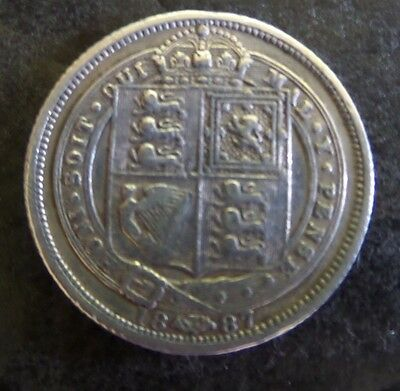 Coin-Queen Victoria six pence 1887