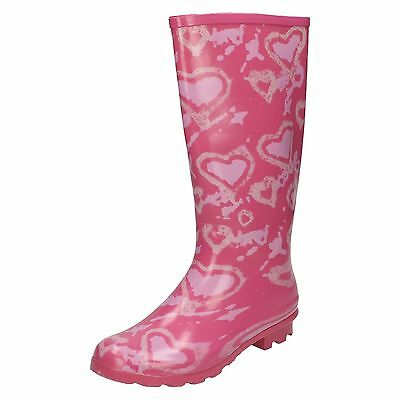 Wholesale Girls Wellington Boots 14 Pairs Sizes 12-5  X1034