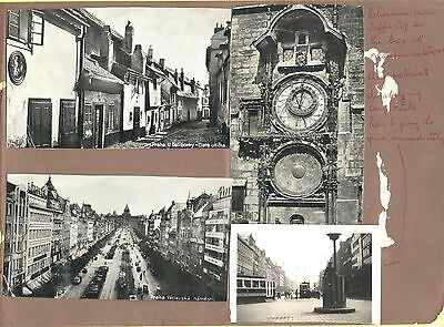 Most Unusual Item. 8 Pages Photos & Text 1938 Trip To Dresden & Prague