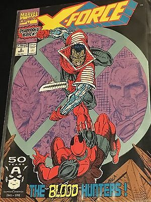 X-force #2 (1991 1st Series) Comic Book - Deadpool 2nd Appearance - NM