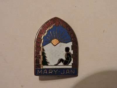 Insigne Badge Montagne Mary- Jan