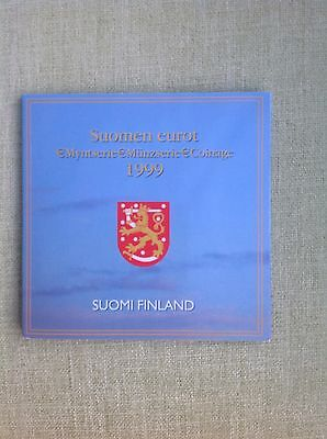 1999 Finland's First Euro Coin Pack