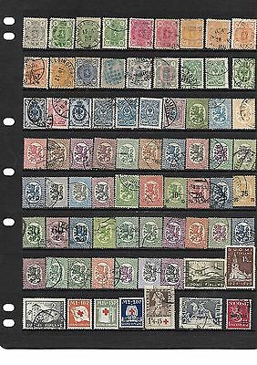 Finland Coll Of 1875-1937 Used