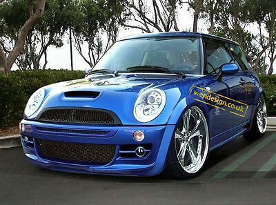 Mini Cooper S-line 2001-2007 - Full Body Kit