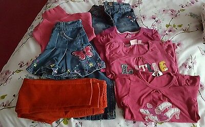 bundle of girls clothes various 4-5-6 years,