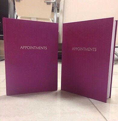 6 Column Spangly Pink Appointment Book