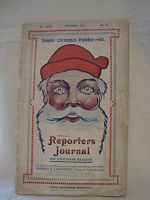 The Reporters Journal and Shorthand Magazine December 1913