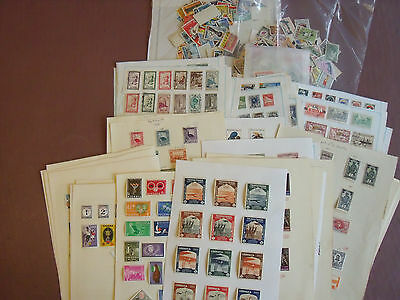 Africa, Huge Collection Stamps, 1540+, Mint & Used On Leaves, Loose Etc