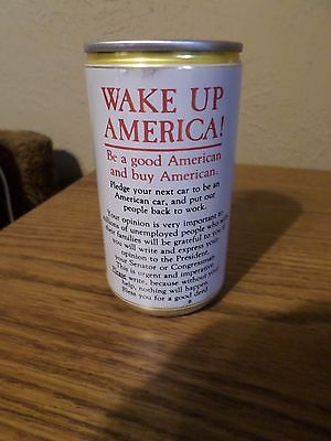 Jax A New Orleans Tradition Wake Up America! Pearl Brewing San Antonio Beer Can