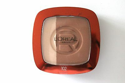 L'Oreal Glam Bronze Bronzing Powder + Highlighter -  Shade: 102 Brunette Harmony