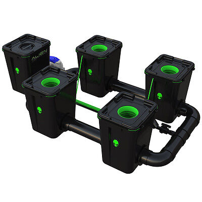 Alien Hydroponic Rdwc Pro 55L Systems All Sizes Recirculating Deep Water Culture
