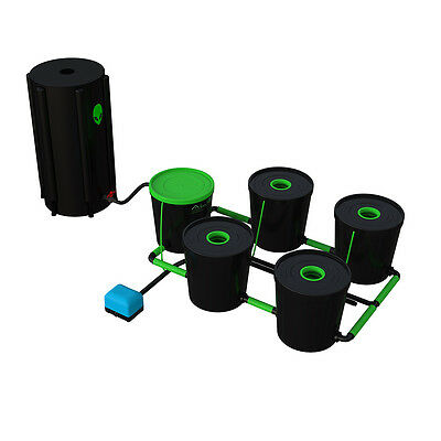 Alien Hydroponic Rdwc 20 Litre System All Sizes Recirculating Deep Water Culture