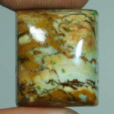 24cts 100% Natural Wonderful Seraphinite Cushion 17x15x10 Loose Gemstone