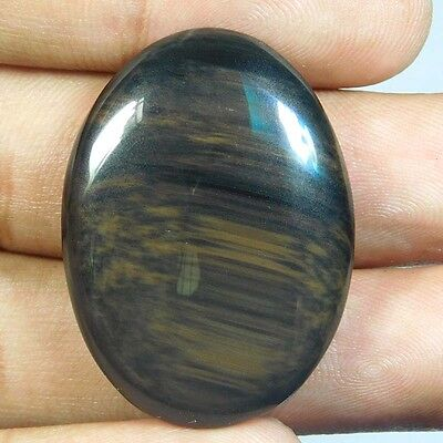 39.85Cts Fantastic 100% Natural BROWN OBSIDIAN OVAL 35X26X6 Loose Gemstone