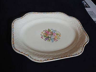 Beautiful Platter Adams Antiques By Steubenville,