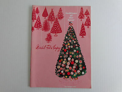 1963 Marshall Field's Christmas Catalog. Fashions of the Hour. Free Shipping!!