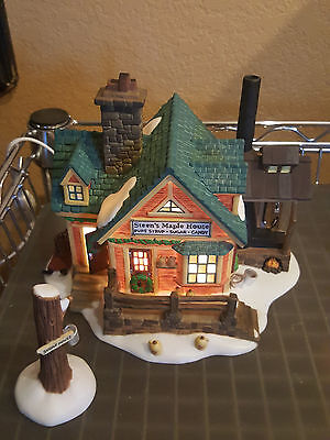 Dept 56 Heritage New England Village Steen's Maple House  w/ Box