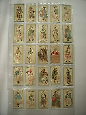 Players cigarette cards - CHARACTERS FROM DICKENS - Full Orginal Set