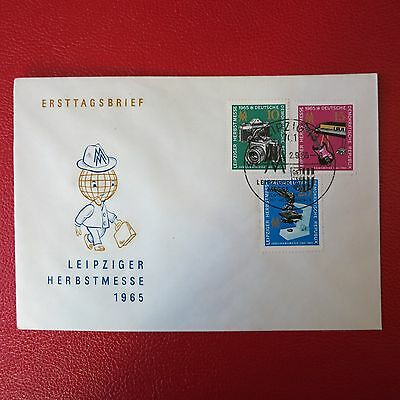 FDC DDR Leipziger Herbstmesse 1965