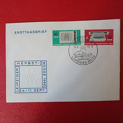 FDC DDR Leipziger Herbstmesse 1966