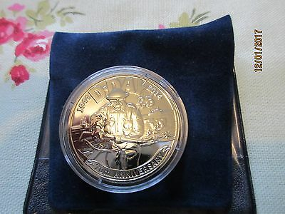2014 Jersey D-Day 70th Anniversary £5 Coin in Capsule Brilliant Uncirculated