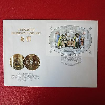 FDC DDR Leipziger Herbstmesse 1987