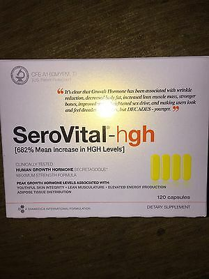 SEROVITAL DIETARY SUPPLEMENT 120 CAPSULES BRAND NEW SEALED Exp October 2019