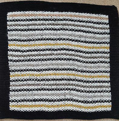 """Hand Knitted Pet Blanket  -  24"""" x 22"""""""