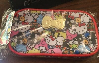 Loot Crate Sanrio Small Gift~ Hello Sanrio Pouch~ Holds Your Treasured Supplies