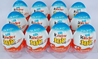 Surprise Eggs Kinder Joy with Surprise Eggs with Toy & Chocolate For Boys 6 Pack