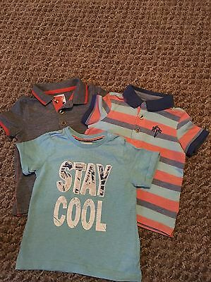 Mothercare Baby Boys 12-18 Months Tops