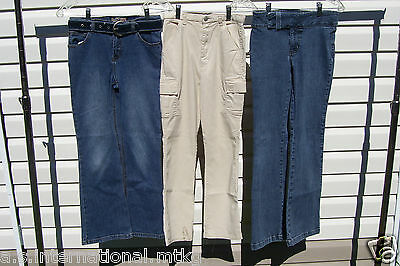 Girls Jeans,  Pants And Jean Belt  ~  4  Lot ~  Size 12