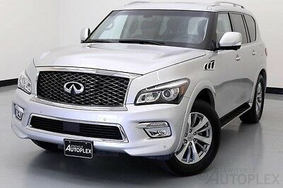 2016 Infiniti QX80  2016 Infiniti QX80 Liquid Platinum Bose Rear Camera Navigation Moonroof