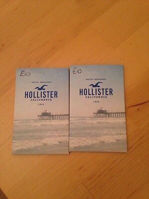 2x Hollister Gift Cards £10