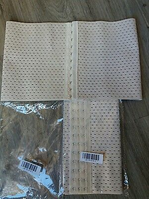 set of 2 back supports new size large beige