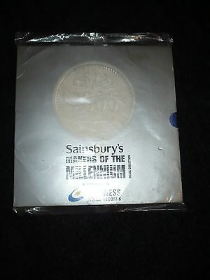 """Sainsbury's """"Makers of the Millenium"""" (1999), Complete - unopened"""
