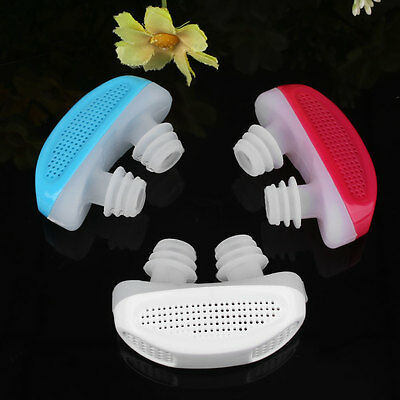 Stop Snoring Nose Breathing Care Air Purifier Clip Health Sleep Equipment