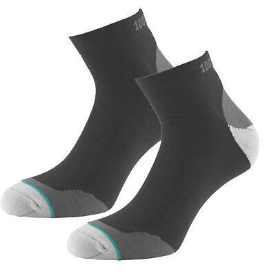1000 Mile Fusion Womens Padded Running Sock (Pair) Black