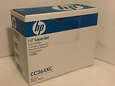 Genuine HP CC364XC Toner Cartridge High Yield - Black , 24K Pages - NEW