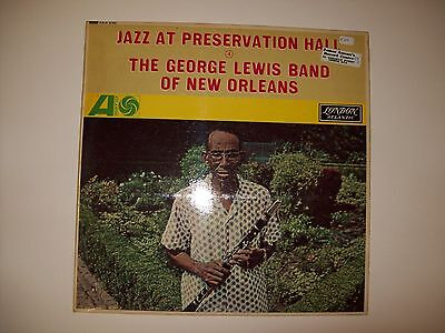 The George Lewis Band Of New Orleans-Jazz at Preservation Hall