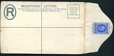 GAMBIA registered envelope #C1a mint 1902