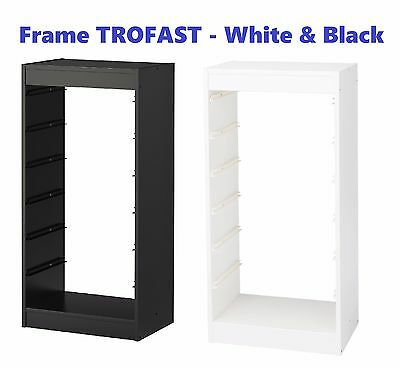 IKEA Frame TROFAST White for Storing and Organising Toys, Books 46X30X94 cm