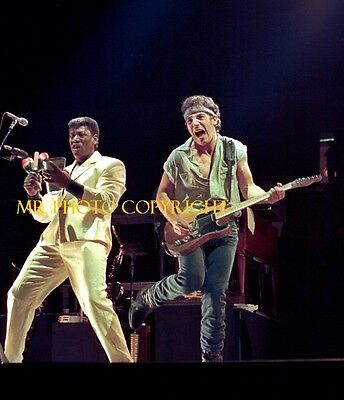BRUCE SPRINGSTEEN CLARENCE CLEMONS 1    Original  photo 8X10  glossy