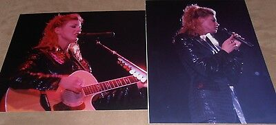FAITH HILL  2  original photos 8 x 10