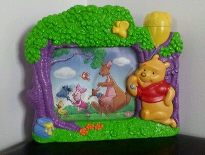 DISNEY Winnie the Pooh musical wind up baby toddler toy.  Soothing toy.