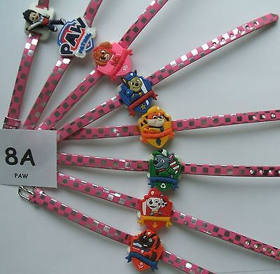 SHOE CHARM BRACELETS (L1) - inspired by  PAW PATROL - **** LARGE PACK ****