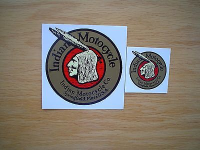 Indian Motorcycle Sidecar and Tool Box Decals