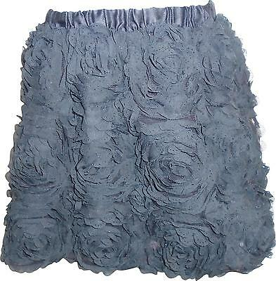 USED Girls Cherokee Black Frilly Skirt Size 6 Years (P.L)