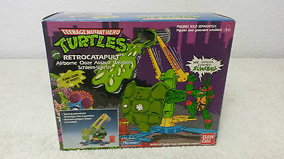 1989 Bandai Playmates Teenage Mutant Ninja Turtles Retrocatapult Tortugas Ninja