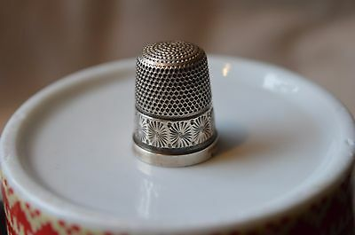 Silver Thimble by Charles Horner